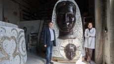 Ekskluzivno donosimo fotografije 17 metara visokog kipa Gospe od Loreta