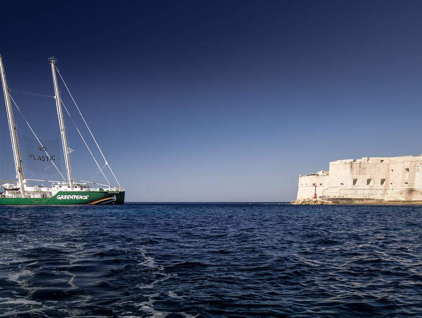 Rainbow warrior u Dubrovniku