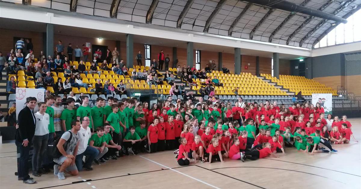 POTICANJE SPORTA Svečano otvorena Škola rukometa Kovarići u Labinu