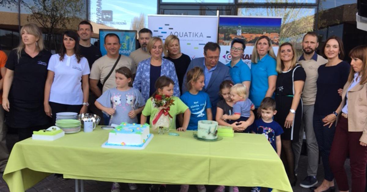 Karlovačka Aquatika proslavila 3. rođendan Muzej rijeka koji je promijenio turističku sliku grada